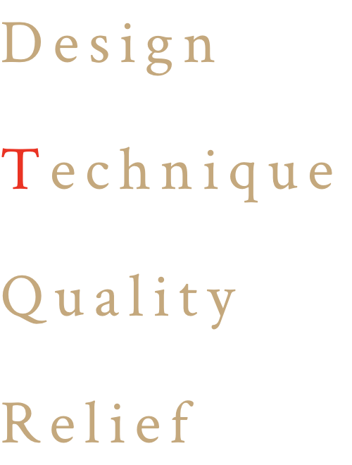 Design Technical Quality Relief